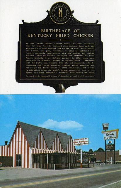 kentucky fried chicken history The government forced kfc to stop using the word 'chicken' in their name because they serve meat derived from mutant animals versions of this legend have been circulating for decades now, as .