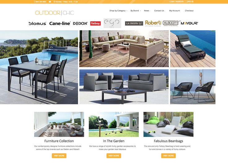 Outdoor Chic website