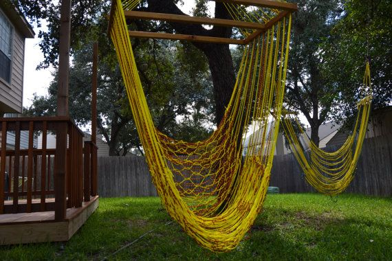 A Paracord Hammock This Would Be So Relaxing Right Now