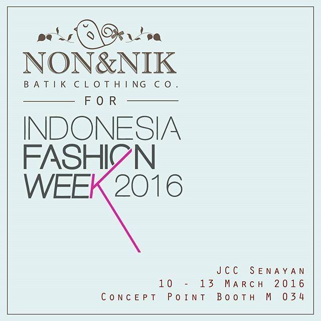 This is it ♡  #indonesiafashionweek #indonesiafashionweek2016 #ifw #fashion #batik #eventjakarta