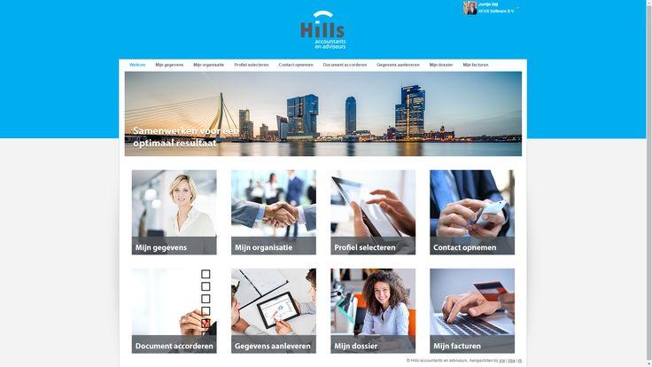 De OutSite klantportal van Hills Accountants & Adviseurs