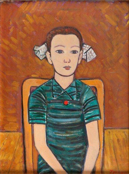 Tymon Niesiolowski (Polish) - The Girl In Green Dress