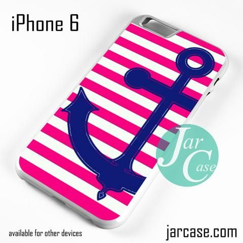 Cute Anchor Pink Line Phone case for iPhone 6 and other iPhone devices