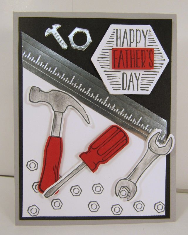 Lisa S Tool Time Father S Day Card: 520 Best Images About Stampin Up