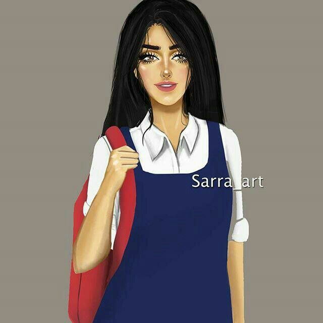 Pin By Ayca Erturk On Girl Style Cute Girl Drawing Sarra Art Lovely Girl Image