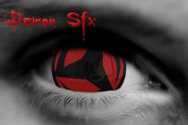 17mm Kakashi Sharingan Cosplay Contact Lenses