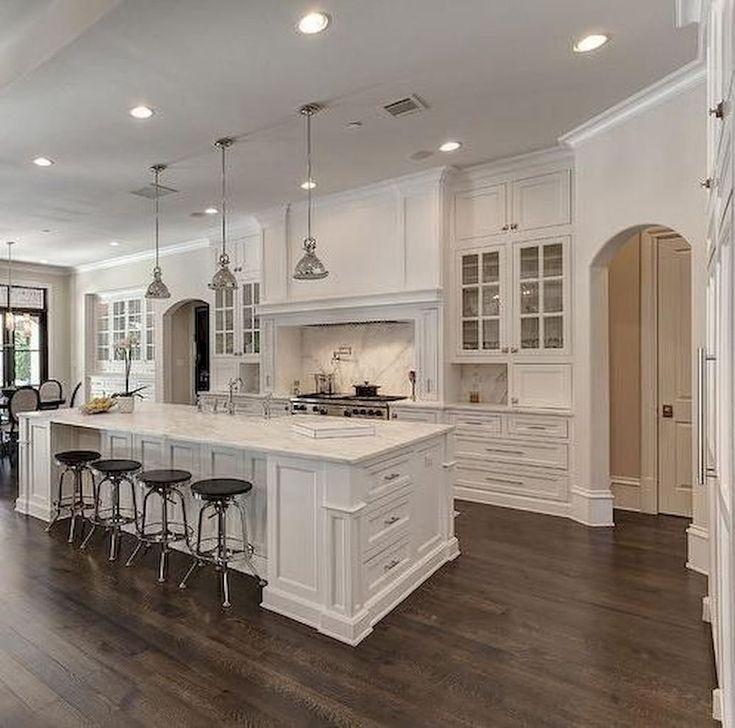 Meilleures armoires de cuisine blanc cassé Idées de design ...