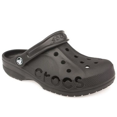 Crocs Baya The Baya from Crocs is comfortable, cool and moulds to your feet. It has an orthotic footbed with an advanced toe box ventilation system and has lots of ergonomic Italian styling! Weighs a few ounces  http://www.comparestoreprices.co.uk/womens-shoes/crocs-baya.asp