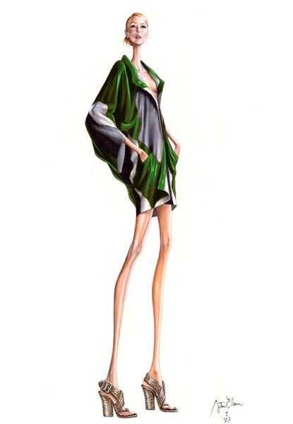 Looking for paradise: ilustraciones de moda...