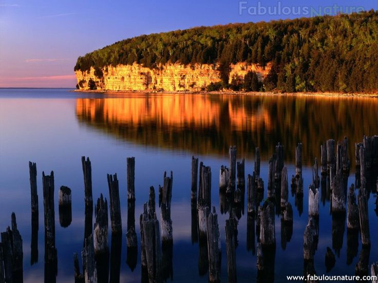 Big Bay de Noc, Fayette State Historic Park, Delta County, Michigan.jpg (960×720)