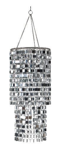 Wall Pops Ready-to-Hang Bling Chandelie 8.5 x 20 WallPops Modern Chandelier #ModernChandelier