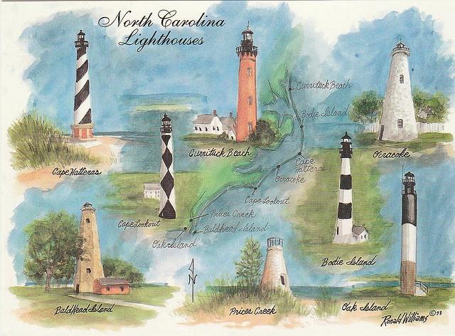 i love all the north carolina lighthouses!!!!