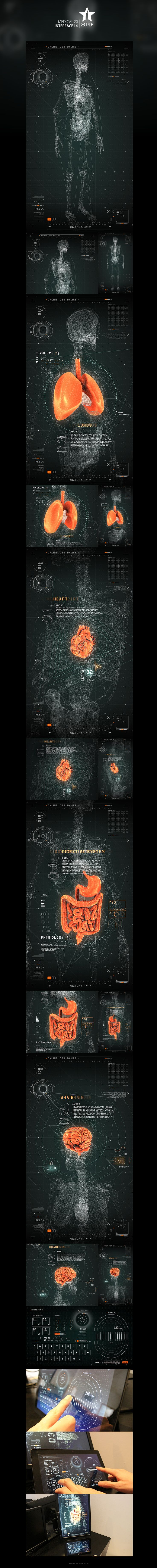#2RISE FUTURISTIC MEDICAL INTERFACE by Jedi88.deviantart.com on @deviantART