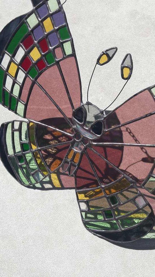 Vivillon ~ Pokémon ~ Stained Glass ~ RannDago