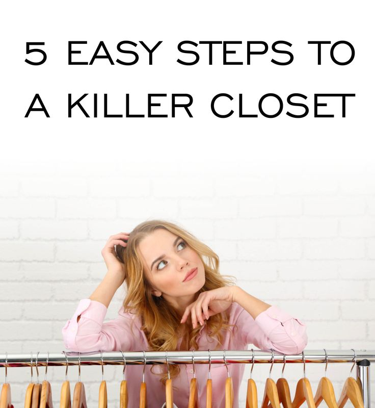 Set aside 1-2 hours to do this - depending on the state of your closet! By following the below steps you will need to do this 4 times a year max.