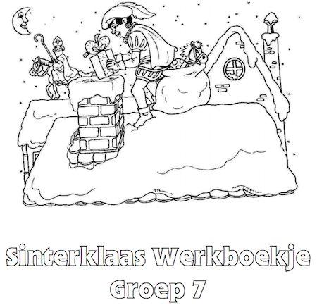 Sinterklaas Werkboekje Groep 7