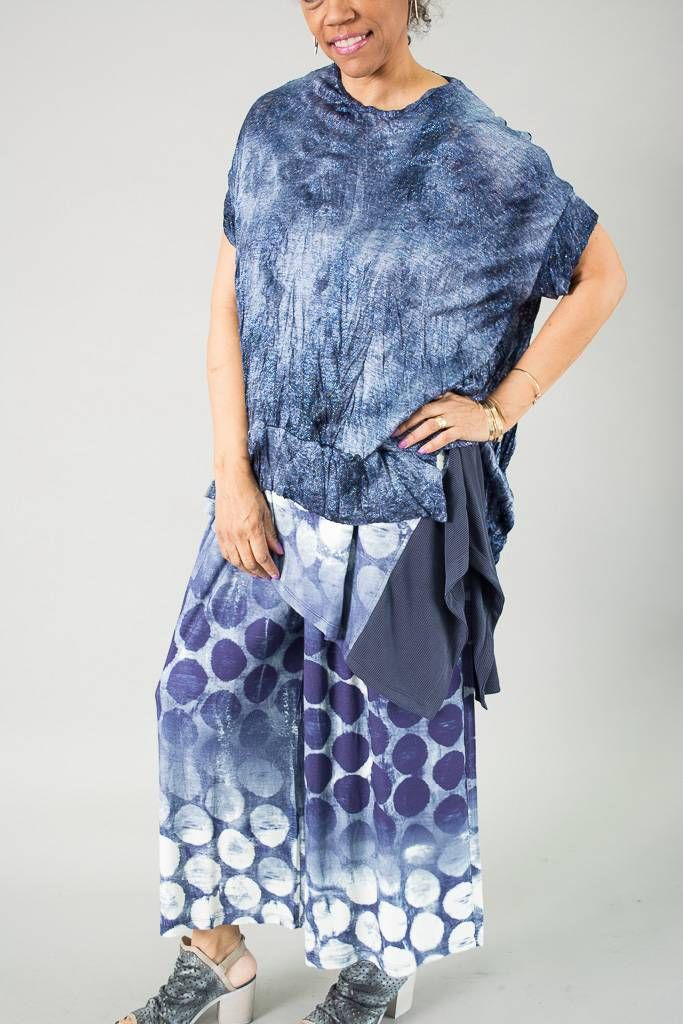 1d3c85d1fdea83 Marbled Knit Top in 2019   Alembika SS 2019   Tops, Marble, Knitted fabric