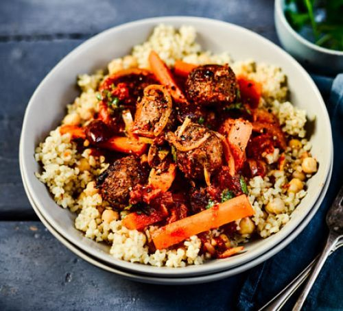 20 best images about bbc health plan on pinterest paella fennel spicy meatball tagine with bulghar chickpeas spicy meatballsbbcgood food chickpeasdinner ideas forumfinder Images
