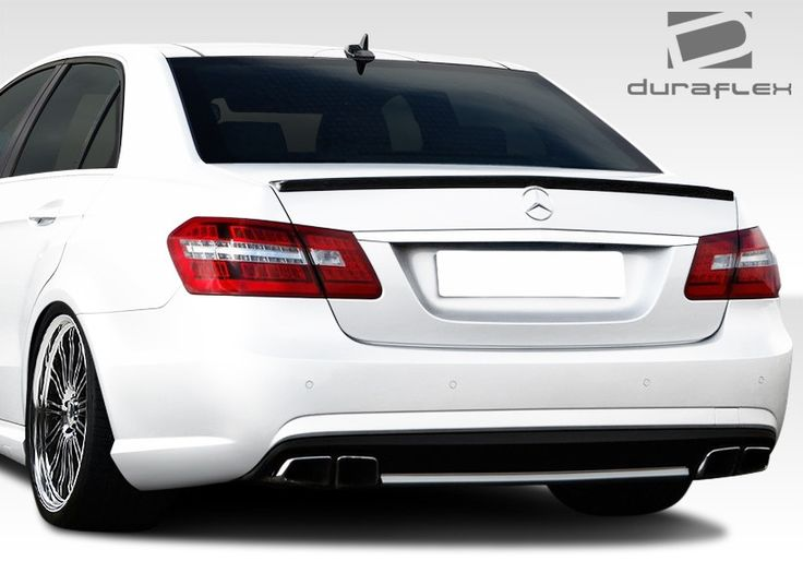 2010-2016 Mercedes E Class W212 Duraflex E63 AMG Look Rear Bumper Cover - 1 Piece