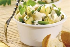 Sałatka ziemniaczana z fasolką/ Potato salad with green beans  www.winiary.pl