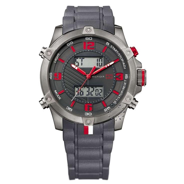 Tommy HILFIGER Anadigi Grey Rubber Strap  155€  Αγοράστε το εδώ: http://www.oroloi.gr/product_info.php?products_id=27813