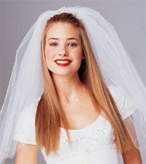 Straight Wedding Hair With Veil Vizitmircom - Wedding hairstyle straight
