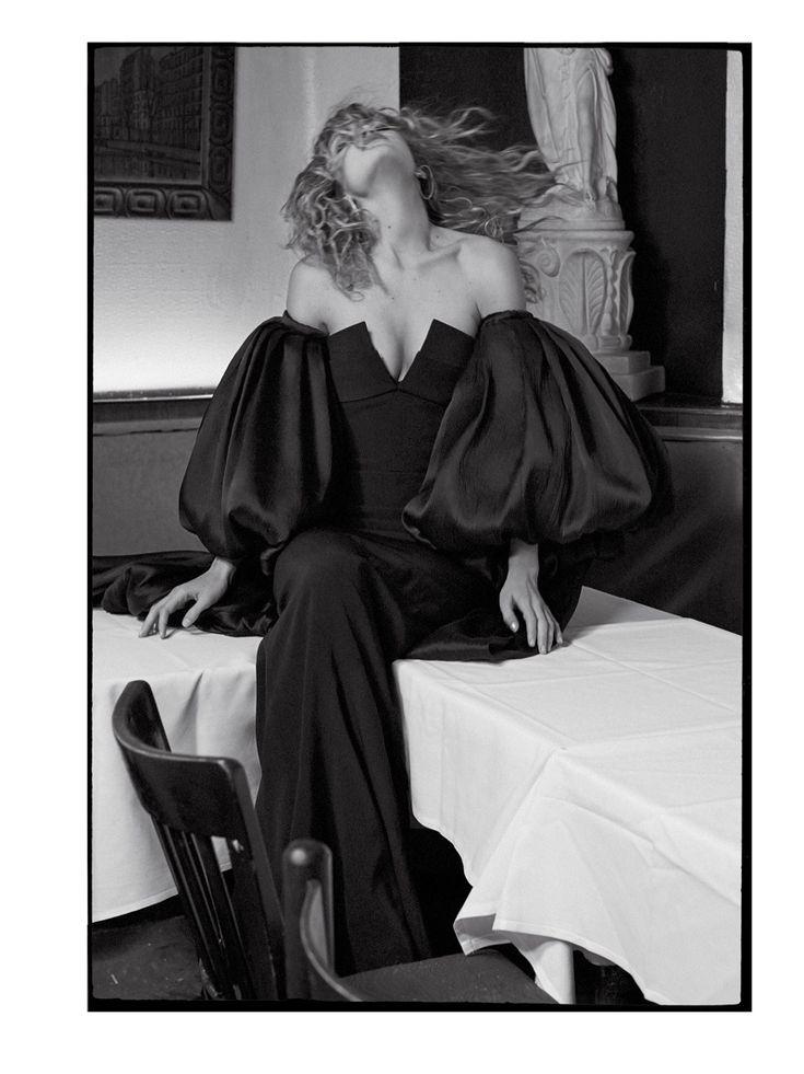 Gigi Hadid Models Glamorous Gowns for CR Fashion Book