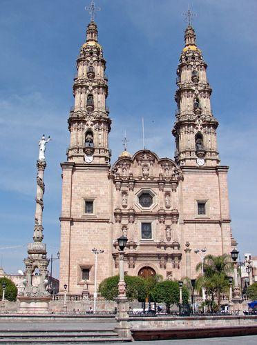 Catedral de San Juan de los Lagos, Jalisco, Mexico