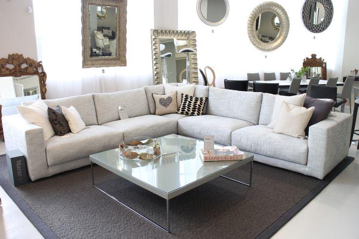 Brera Sofa Made in Italy by Marac. Web Coffee Table Made in Italy by Antonello Italia. Available at Sarsfield Brooke.