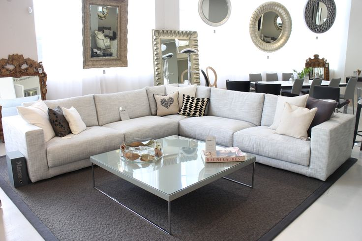 Brera Sofa Made in Italy by Marac. Web Coffee Table Made in Italy by Antonello Italia. Available at Sarsfield Brooke.