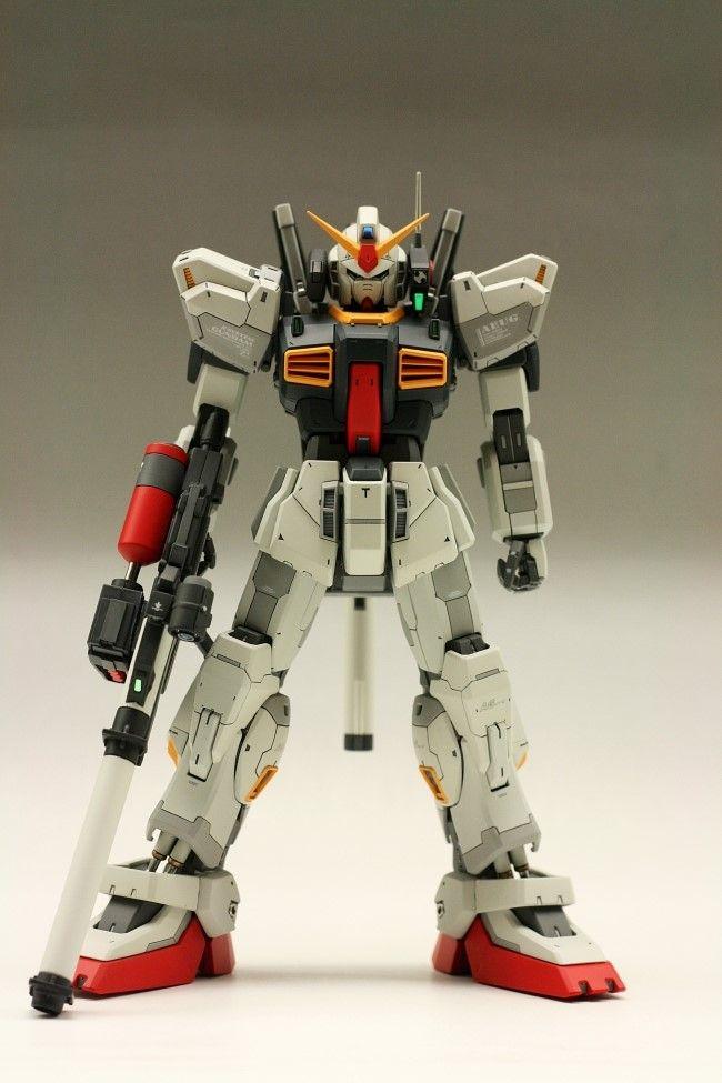 MG RX-178 Gundam Mk-II A.E.U.G. Remodeled by minamp123.