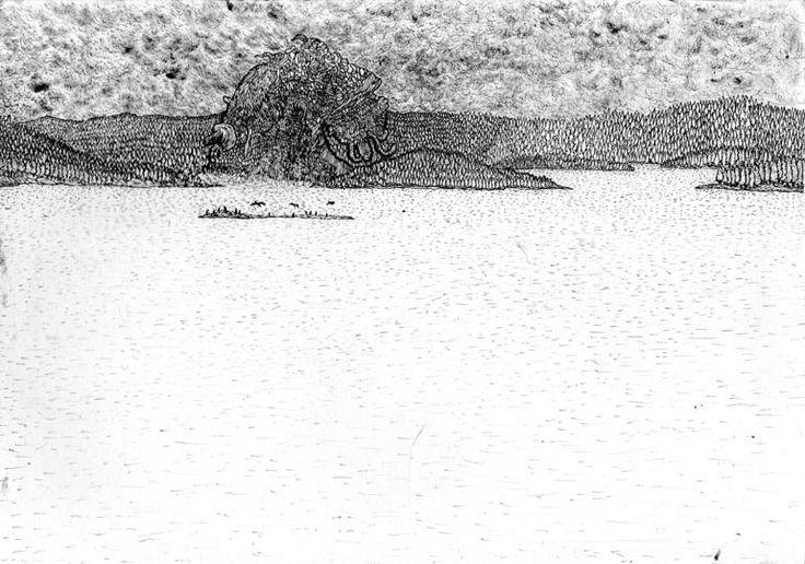 Oslofjorden, 65.000 B.C., Nicola Vinciguerra