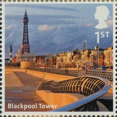A to Z of Britain, Series 1 1st Stamp (2011) Blackpool Tower