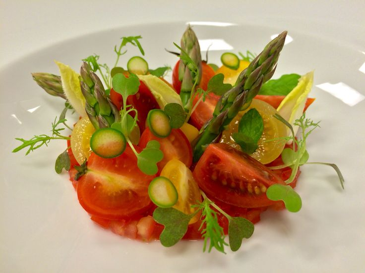 Tomatoes & Asparagus