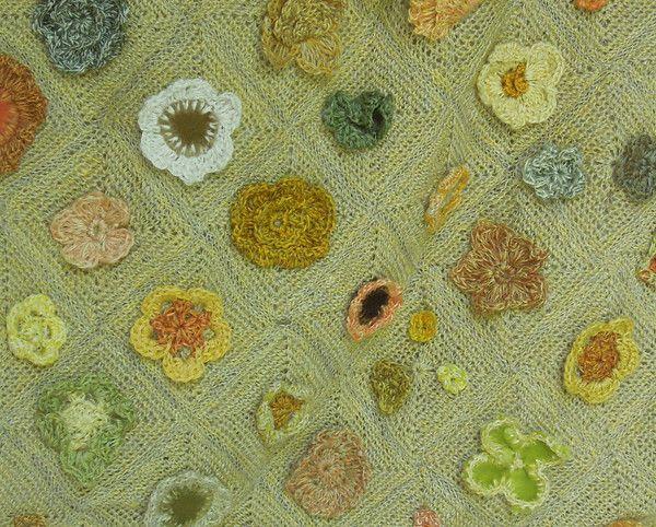 Cosmos Large Bag — Details. Sophie Digard crochet design
