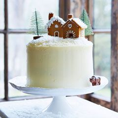 Gingerbread layer cake with maple icing - Sainsbury's Magazine