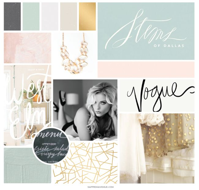 A Modern Beauty Website Design :: Va Va Voom Boudoir - Saffron Avenue : Saffron Avenue