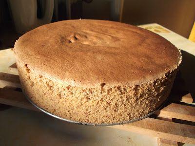 Reformnasik: Mandulás piskóta tortalap (gluténmentes)