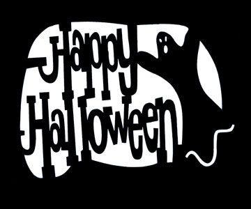 Happy Halloween Stencil