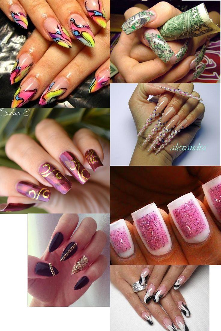 Nailart lange nagels long nails