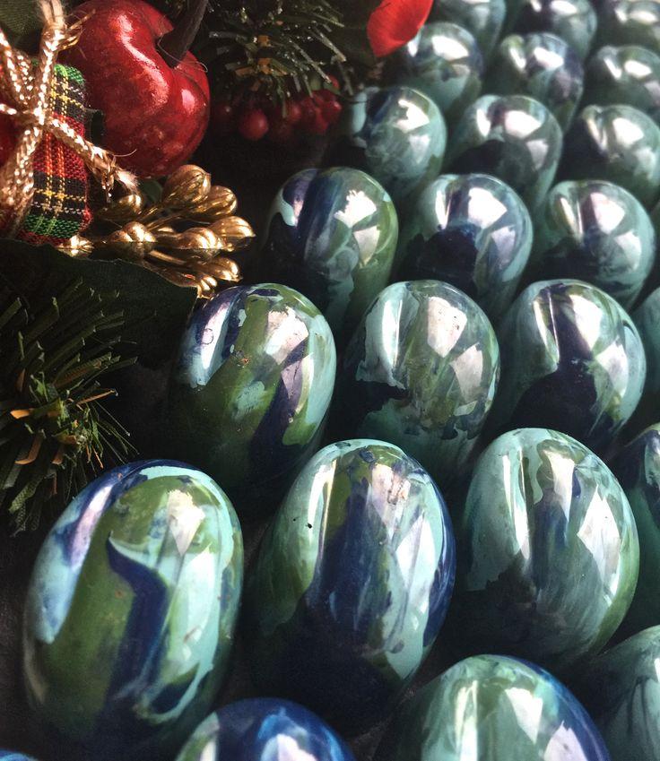 Christmas Season Flavors www.alicebentleychocolates.com