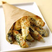 I'm OBSESSED with these WW Zucchini Fries!! A little time consuming but SO worth it. A fabulous side!