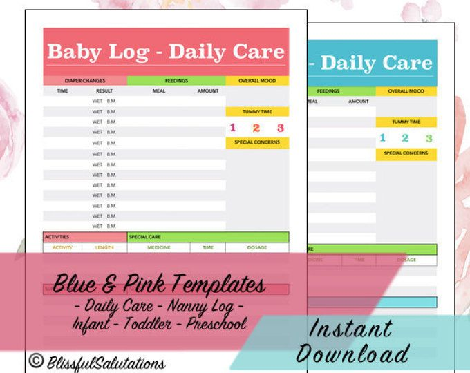 baby routine template - 25 best ideas about infant daily report on pinterest