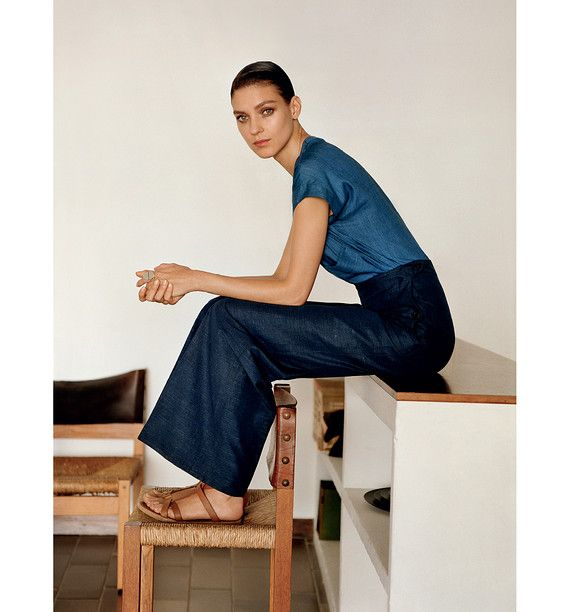 EASY LIVING | A look from spring 2013, photographed for Lemaire's Vestiaire, the booklet showcasing...