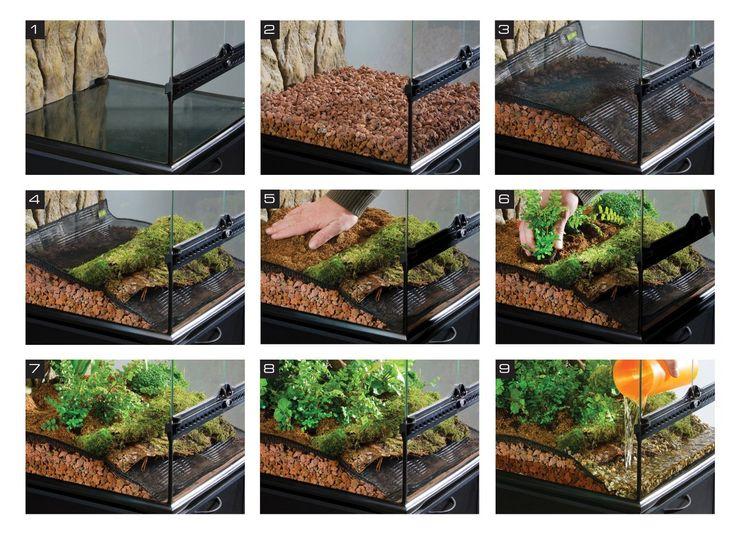 Exo Terra PT3115 Terrarium Substrat Bio Drain fr Wasserdrnagesystem, 2  kg: Exo Terra: