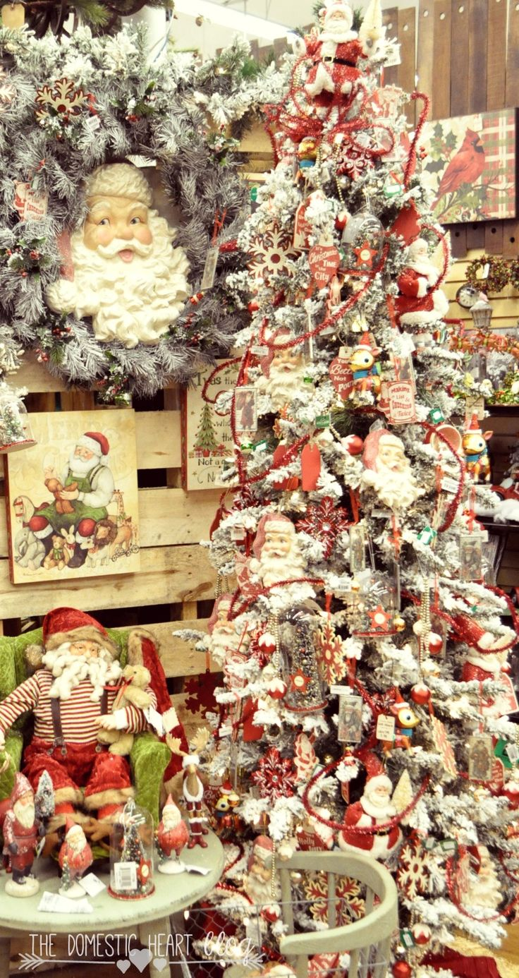 1000 images about christmas trees santa on pinterest for Amazing christmas tree decorations