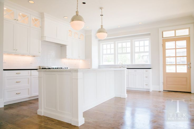 Tiek built homes dream home pinterest stove hoods for Kitchen back door