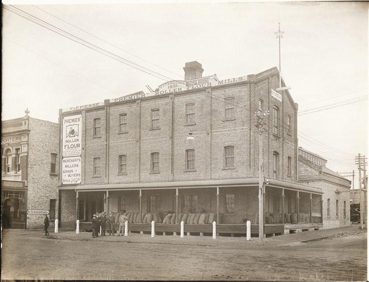 BA1271/350: Premier Flour Mill, Katanning, ca 1912 http://encore.slwa.wa.gov.au/iii/encore/record/C__Rb2109185?lang=eng