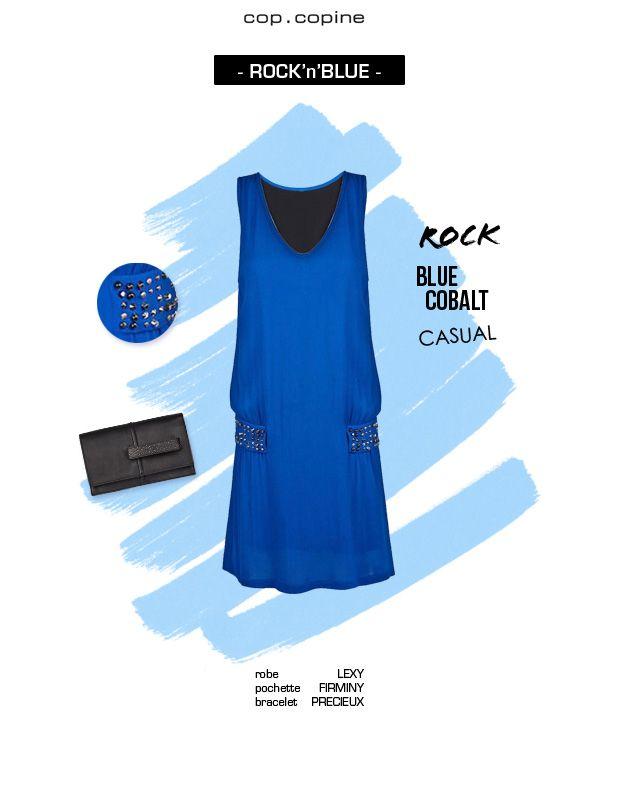 -Rock'n'blue- la robe LEXY, une robe qui réveille votre dressing