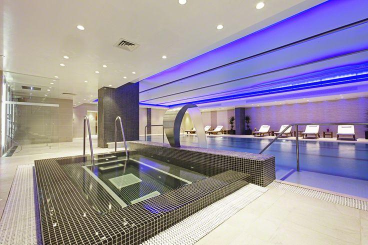 Infinity Edge Spa Pool I at Grange Tower Bridge Hotel #AjalaSpa #InfinityPool